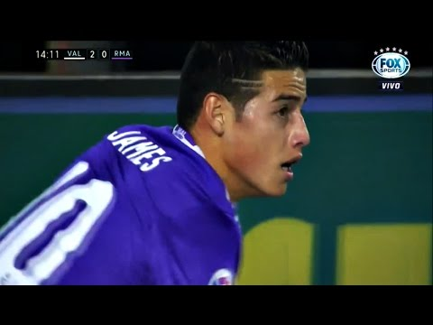 James Rodriguez vs Valencia HD 720p 22/02/2017