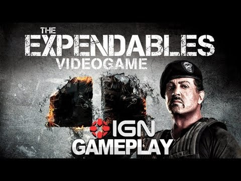 The Expendables 2: Video Game - Hands On - Comic-Con 2012