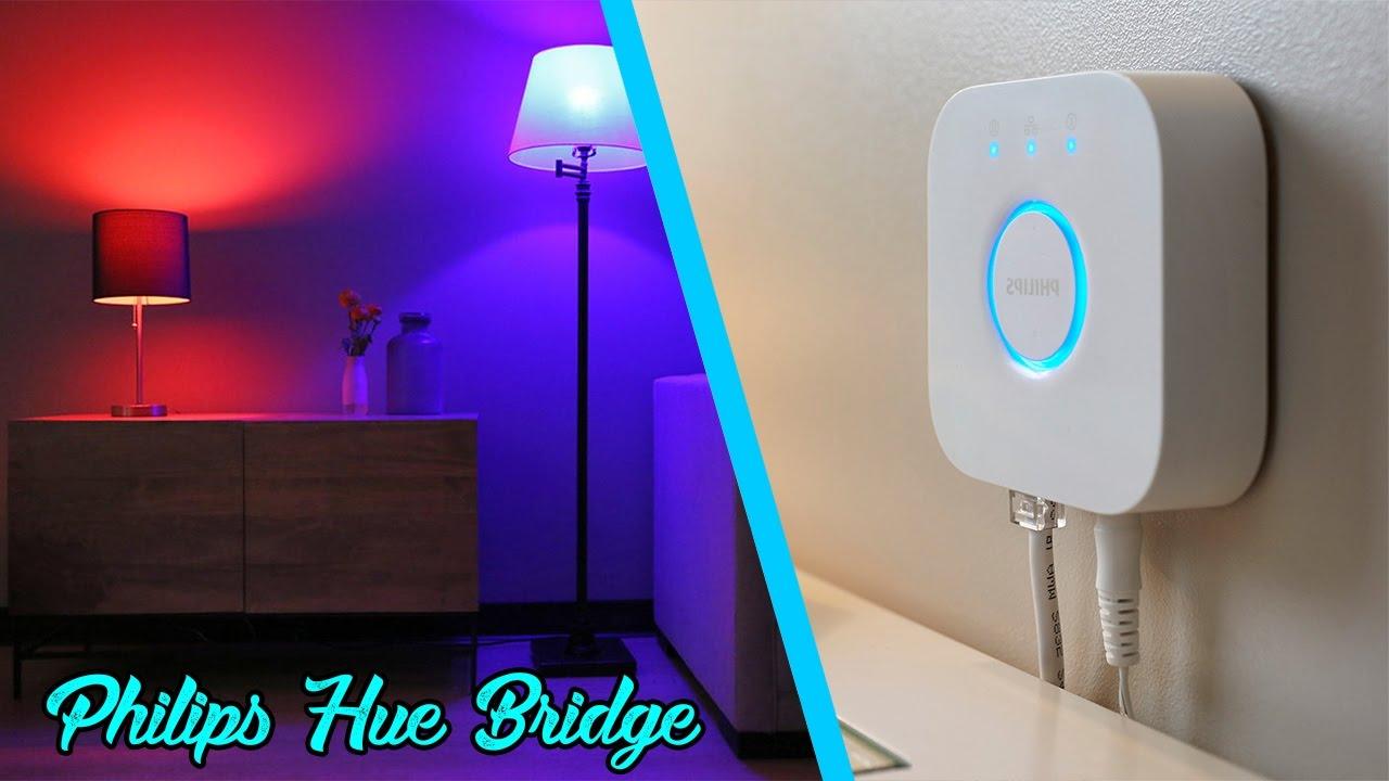 Philips HUE Bridge Unboxing & Setup - YouTube