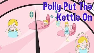 Polly Put The Kettle On Nursery Rhyme by Oxbridge Baby