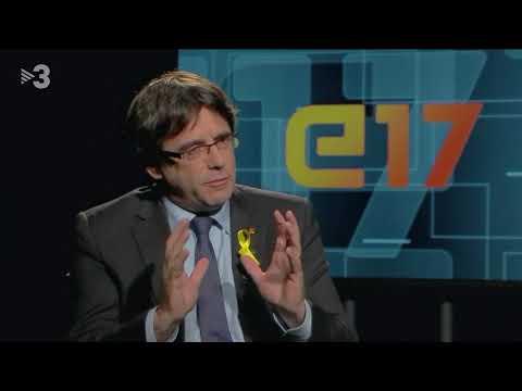 Carles Puigdemont (JuntXCat) - Entrevistes electorals 21D
