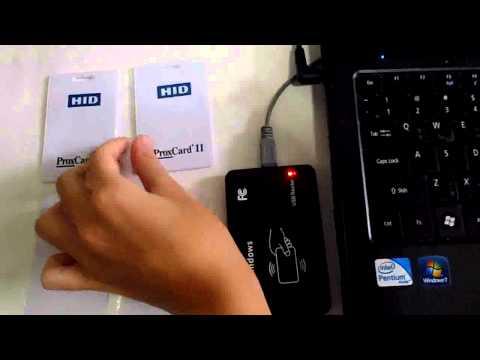125Khz HID Proxdata card copier / programmer / writer
