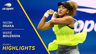 Naomi Osaka vs Marie Bouzková Highlights
