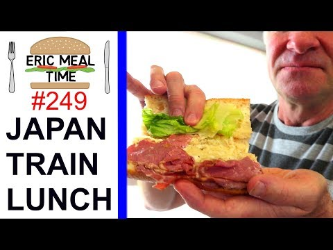 Japan Train Sandwiches - Eric Meal Time #249