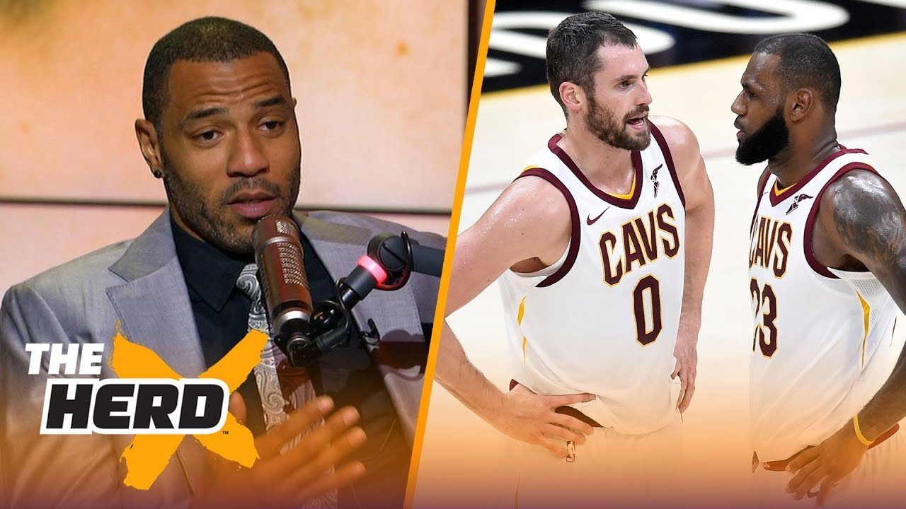 Kenyon Martin on Love being the key to LeBron's Cavs winning the East, Ty Lue's departure | THE HERD