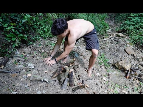 surviving by building with primitive technologies and survival tools