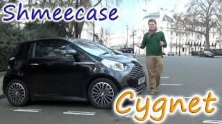 Aston Martin Cygnet [SHMEECASE] - Overview, Startup, Revs and Clips