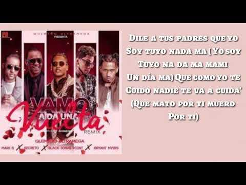 Una Vuelta - Remix (Letra) Bryant Myers❌Quimico Ultramega❌Secreto❌Black Point❌Mark B