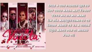 Una Vuelta - Remix (Letra) Bryant Myers❌Quimico Ultramega❌Secreto❌Black Point❌Mark B