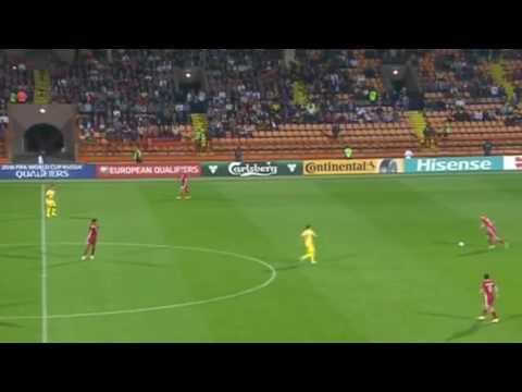 Армения - Румыния 0-5 голы и моменты. 08.10.2016 Отборочный турнир ЧМ 2018.