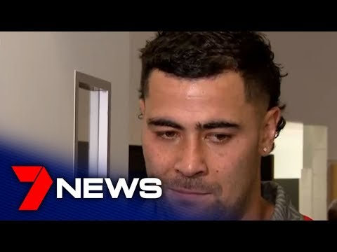 Australian Kangaroos & Tonga rugby league media conference after Eden Park Oceania Cup game | 7NEWS