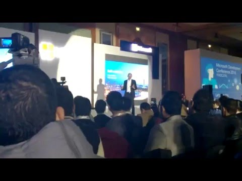 Satya Nadella in Cairo Egypt for Microsoft Developers Conference