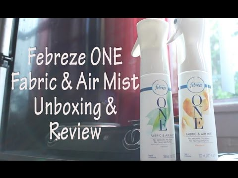 Febreze ONE Fabric & Air Mist | Unboxing | Review | Demo | Selena Thinking Out Loud
