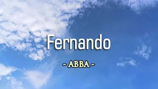 Fernando - KARAOKE VERSION - as popularized by ABBA