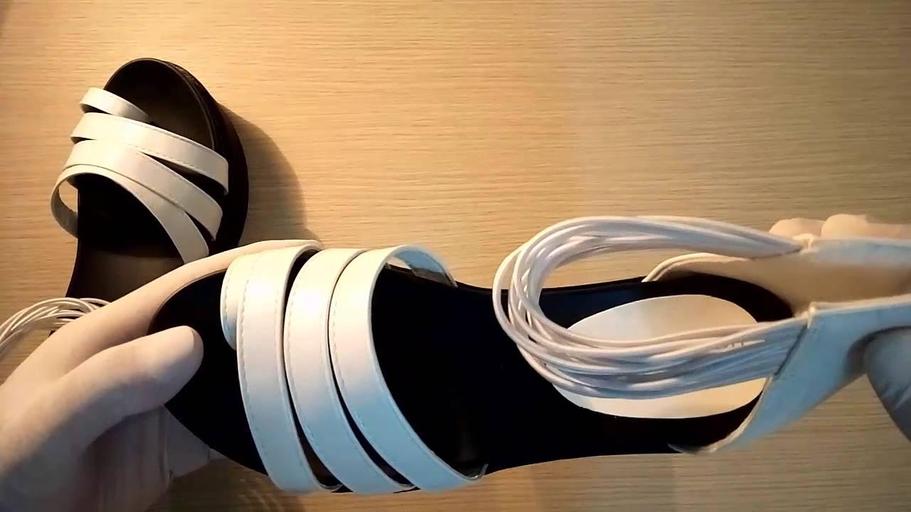[Doni86.com] Giày sandal nữ 3 dây chéo hàn quốc 2016