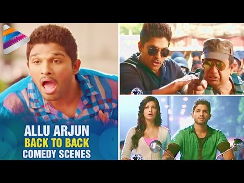 Allu Arjun Back To Back Comedy Scenes |...