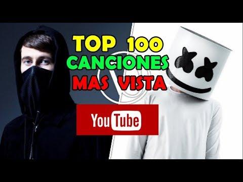 Top 100 Música Electrónica Mas Vistos En Youtube Actualizado Octubre 2019 Youtube