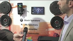 "JBL ""Hear the Truth"" car stereo demo | CES 2017 | Crutchfield video"