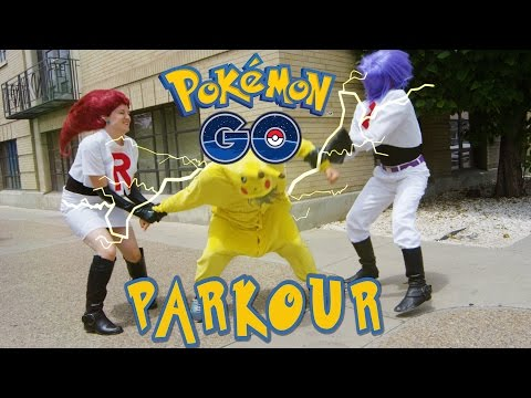 Pokémon GO Meets PARKOUR in REAL LIFE!