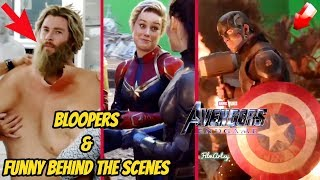 Avengers: Endgame Full Bloopers, Deleted Scenes, and Funny Behind the Scenes | DVD Bonus
