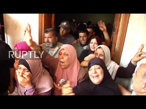 State of Palestine: Funeral held for protesters killed during Gaza border demos