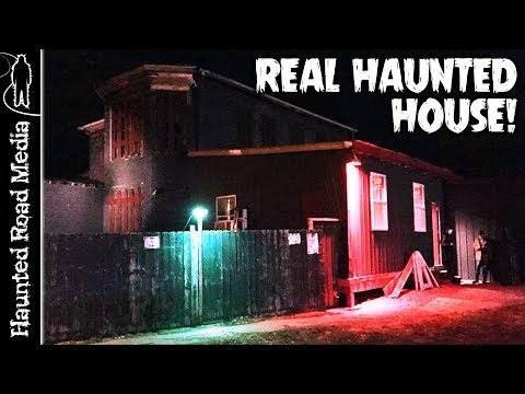 Real Ghost Caught on Camera at 217 Terror Haunted House!