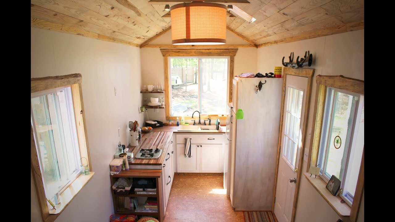 Tiny house living with a family the ups and downs of Interior pictures of tin homes
