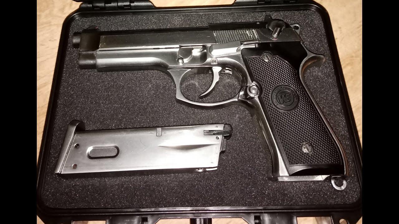 Download WE M92 Berreta Silver Airsoft gun