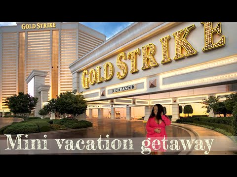 Weekend Getaway Vlog- Gold Strike Hotel And Casino Tunica, Shopping And Gambling 2019