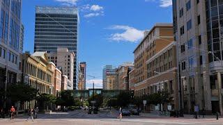 Walk in downtown Salt Lake City 2020 [4K]