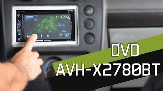 Pioneer AVH-X2780BT com AppRadio Live - Linha 2015