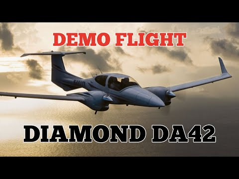 Diamond DA-42 NG Intro Flight | TwinStar