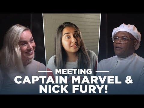 Meeting Captain Marvel and Nick Fury! | #RealTalkTuesday | MostlySane