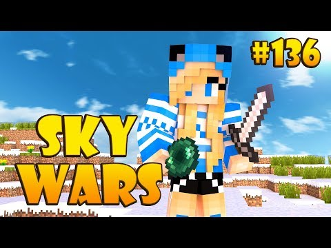 КАК АЛМАЗНИК ТАК ОТЛЕТЕЛ?! ЖЕСТЬ! - Minecraft Sky Wars VimeWorld #136