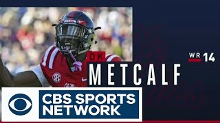 Will D.K. Metcalf get drafted in the FIRST ROUND? WR Draft Breakdown | CBS Sports