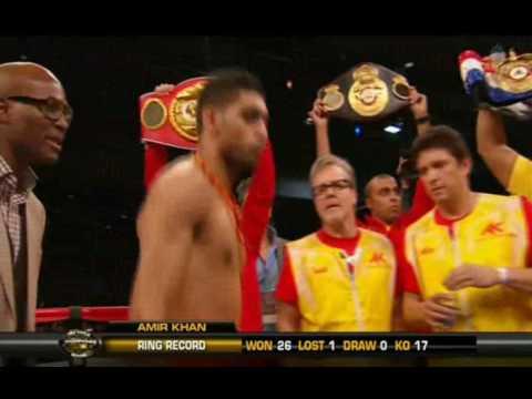 Amir Khan vs  Lamont Peterson Fixed fight?