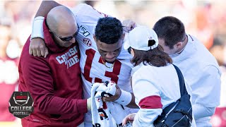 Nick Saban was shaken by Tua Tagovailoa's injury - Jim Mora | College Football on ESPN