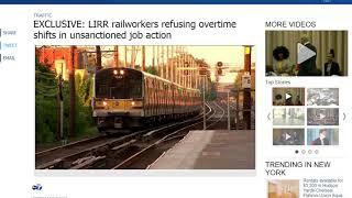 Breaking News: LIRR work slowdown thanks to Pat Foye & Wall St!