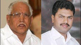 Former Karnataka CM BS Yeddyurappa & son BS Raghavendra visit Shimoga temple; by-polls in Karnataka