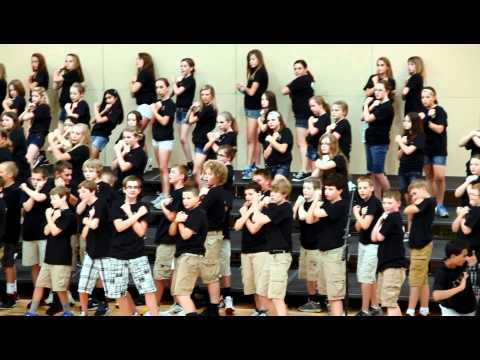 Elkhorn Valley View Middle School 2012 Choir Concert - History of Rock