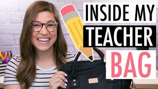 What's In My Teacher Bag? | Pocketful of Primary