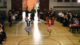 The Black Watch (Royal Highland Regiment) of Canada Pipes and Drums New Years Performance part 2