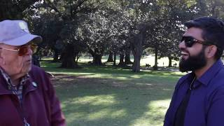 New Findings on Mass & Energy!? Br. Omer vs The UFO Man | Speaker Corner | Hyde Park, Sydney