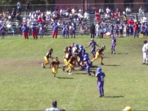 Jayhawks vs. Steelers (C Team): Game Highlights (9...