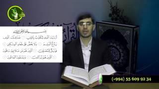 Hacı İlkin Həsənzadə Quran Dərsi  Maun surəsinin oxunuşu (Təhqiq)