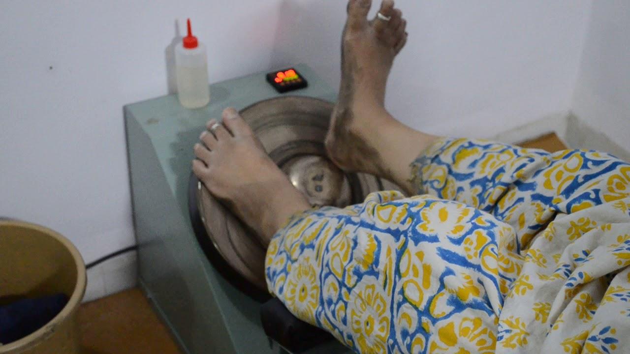 Sai Krupa Kansa Thali Foot Massage Youtube