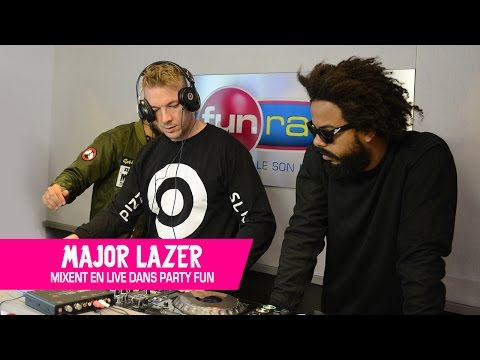 Major Lazer en mix exclusif pour Fun Radio