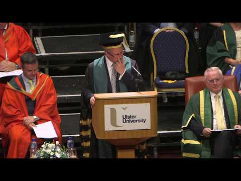 Ulster University Summer 2017 Graduation - morning ceremony Magee