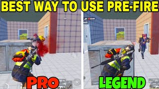 This PRE-FIRE trick will save your life! • (21 KILLS) • Pubg Mobile