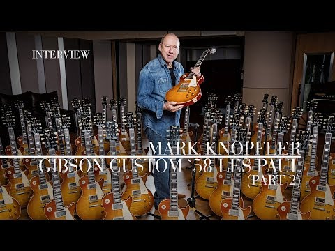Gibson Custom Mark Knopfler '58 Les Paul - Aged and Signed